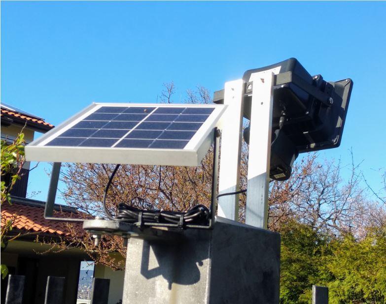 Faretti 10W e 20W con pannello solare